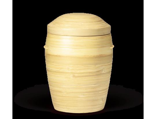 Bambusurne, Natur 100% nachwachsender Rohstoff