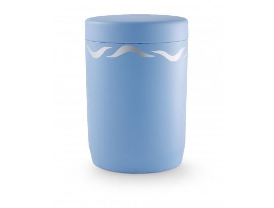 Seeurne, Anhydrit-Tonolith, friesenblau, Dekor