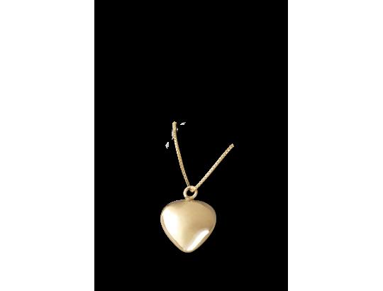 Am-Urn-Let, 14 karat Gold (585)  in Samtdose Herzform, kleine Ausführung