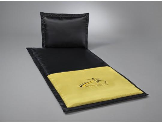 Fussball-Garnitur schwarz/gelb