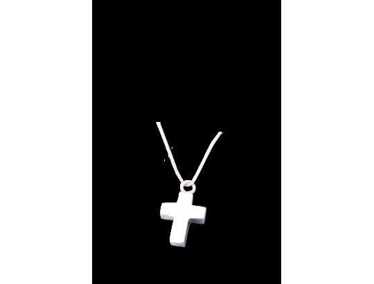 Am-Urn-Let, Kreuz, Sterlingsilber in Samtdose kleine Ausführung