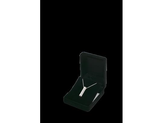 Am-Urn-Let, 925 Sterlingsilber zylindrisch, matt gebürstet,