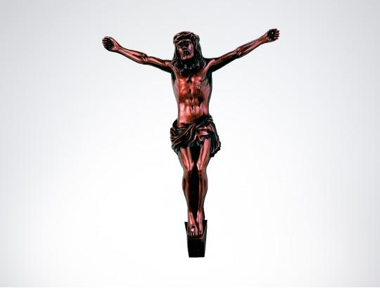 Korpus Kunststoff , bronziert, 14 cm