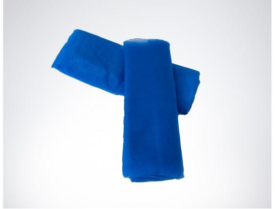 Dekostoffe Organza - Blau