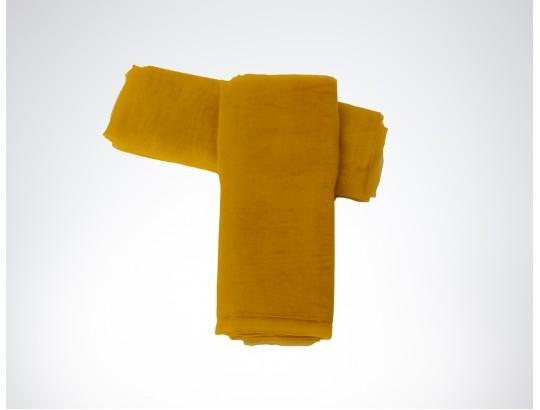 Dekostoffe Organza - Gelb