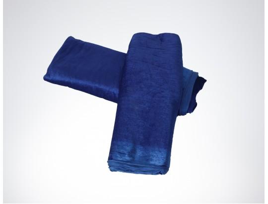Dekostoffe Pannesamt - Blau