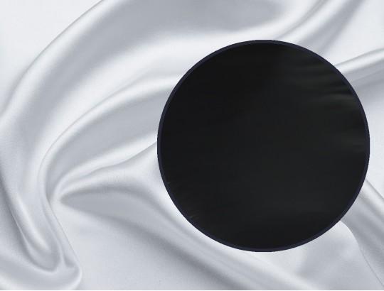Laken Glanzseide schwarz