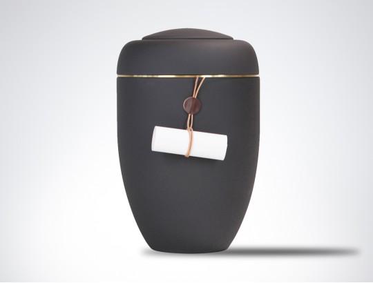 Symbol-Urne Grundkörper schwarz