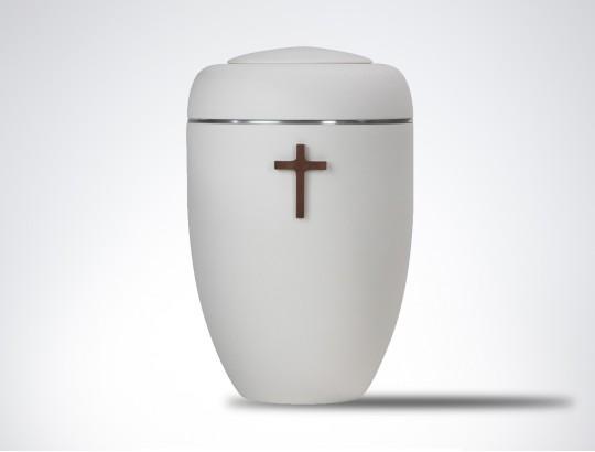 Symbol-Urne Grundkörper cremeweiß