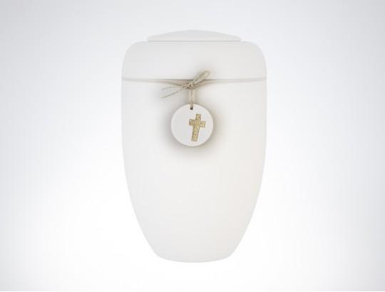 Keramikanhänger Kreuz