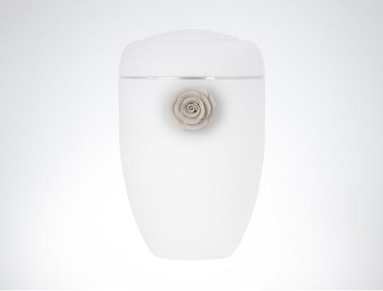 Tonrose weiß