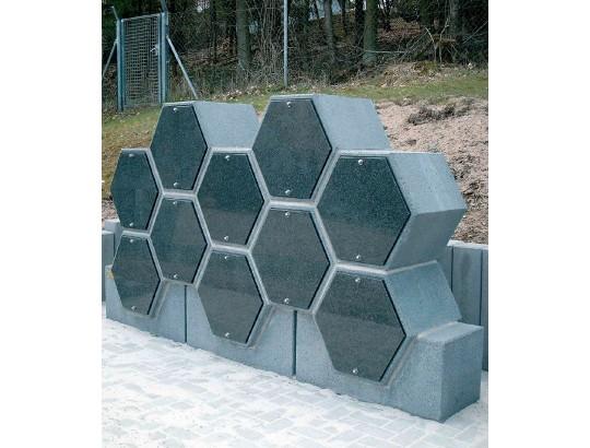 """Sockelelement """"Hexagon"""""""