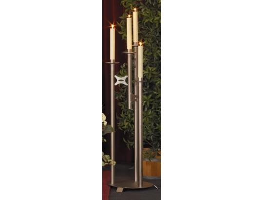 Leuchter, 4-lichtig, links