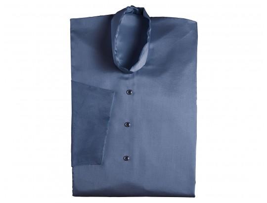 Glanzseide blau